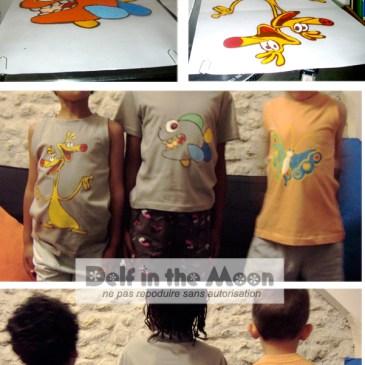 Tee-shirts des enfants (série !)