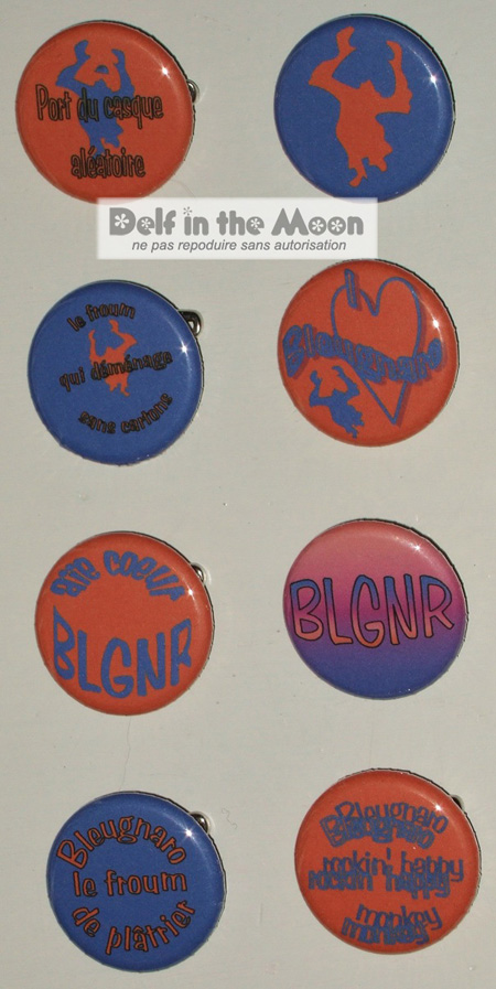 Badges Bleugnaro
