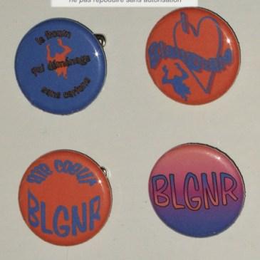 Badges Bleugnaro
