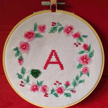 Broderie A comme Alison