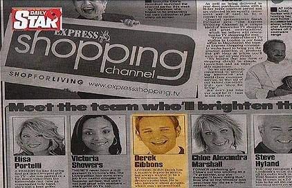 Daily Express Press - Derek Gibbons