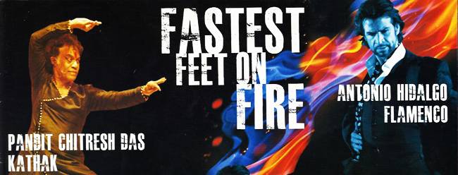 Fastest feet on fire – Pt. Chitresh Das and Antonio Hidalgo
