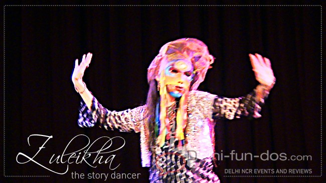 DANCE PEACE – Performance by story dancer Zuleikha