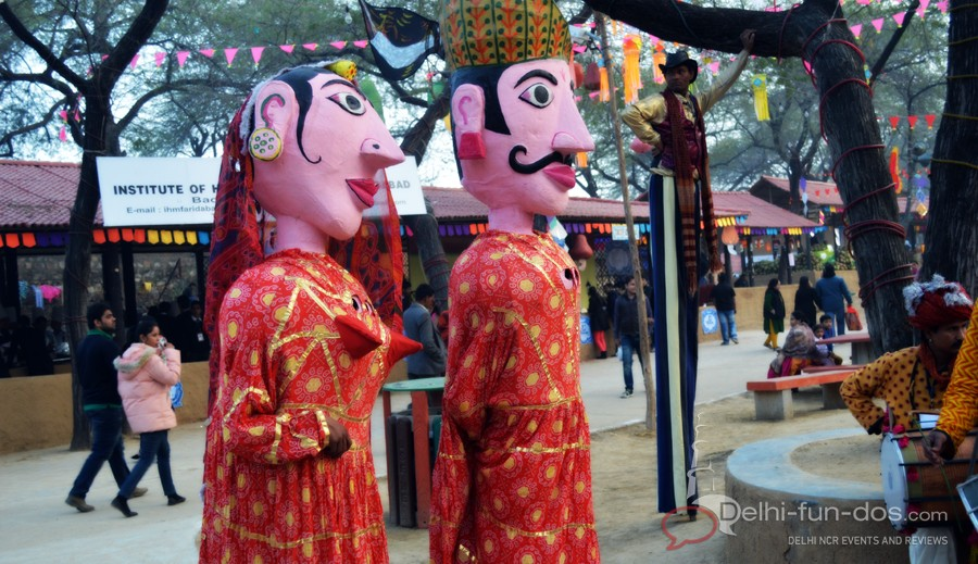Surajkund International Crafts Fair 2014