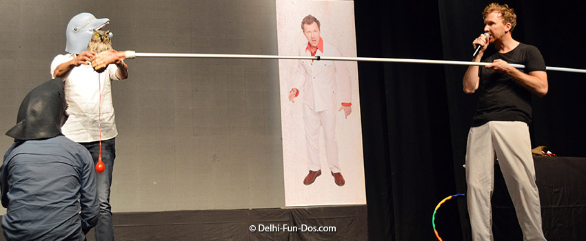 Jason Byrne Is Propped Up – Standup comedy in Delhi