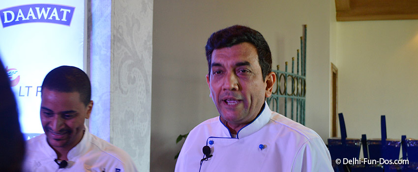 Spreading the magic of Basmati globally with Chef Sanjeev Kapoor