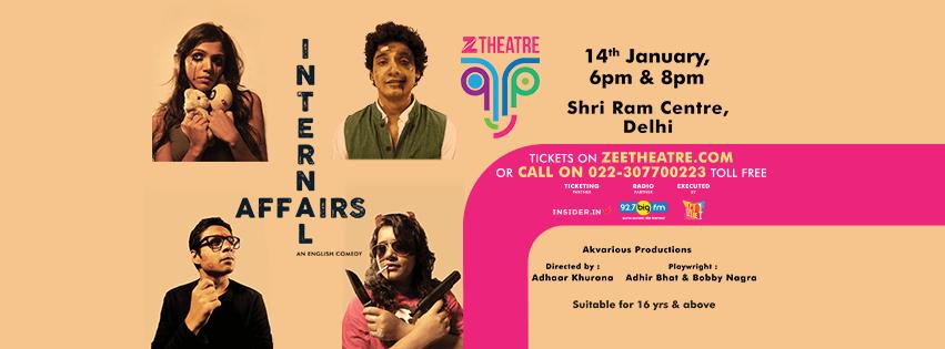 "Zee Theatre ""Internal Affairs"" – English play"