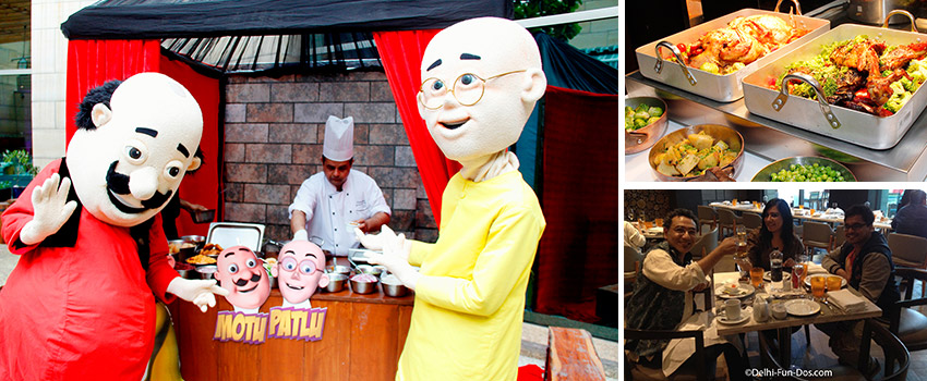 Sunday Brunch with Nickelodeon's Motu Patlu