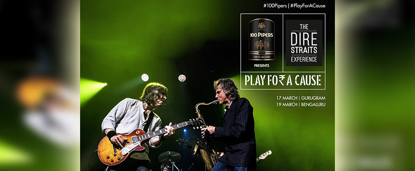 100 Pipers gets The Dire Straits Experience to 'Play For A Cause'