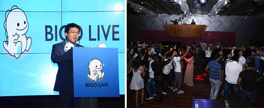 BIGO Live – First party in India