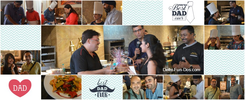 Crowne Plaza Gurgaon celebrates Father's Day