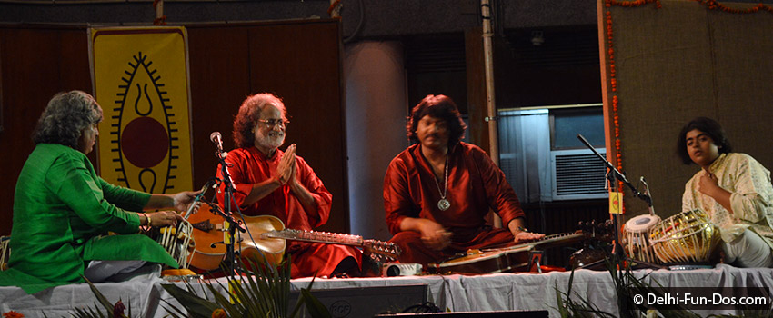 SPIC MACAY brings Parveen Sultana and Vishwa Mohan Bhatt