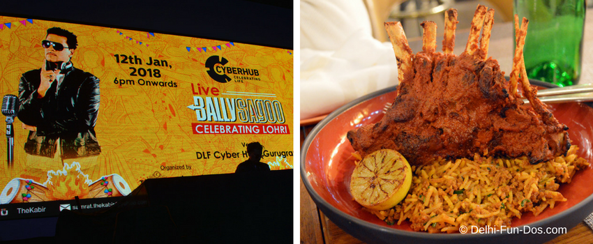 Bally Sagoo Live and Dinner at Punjab Grill Tappa – Lohri Celebrations at DLF