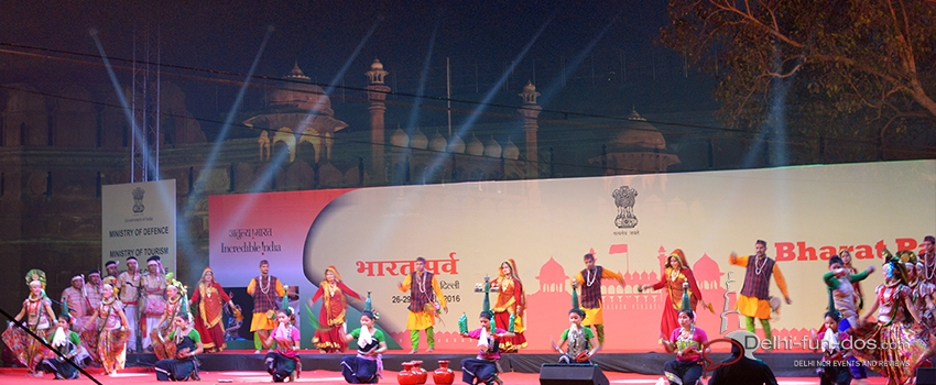 Bharat Parv 2016 – Celebrating India