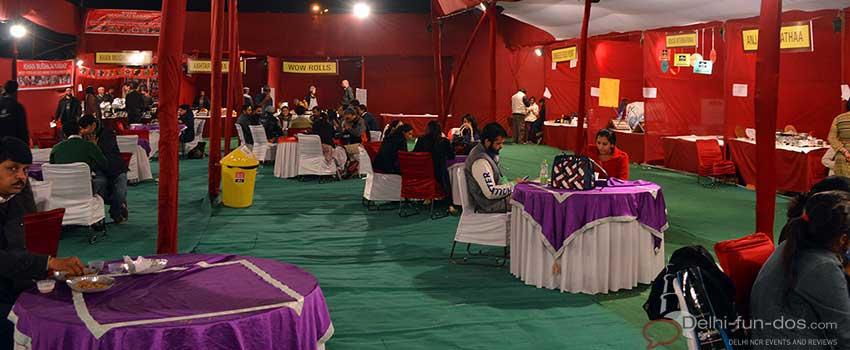food-court-at-bharat-rang-mahotsav-nsd-ltg-sriram-center