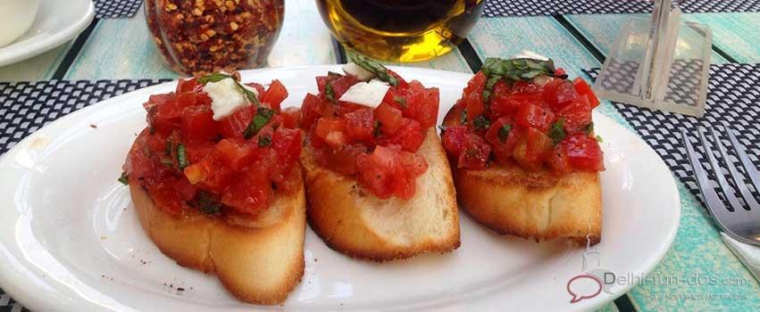 Italiano – Italian cuisine at DLF Cyber Hub