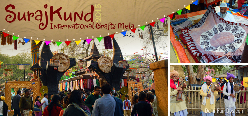 Surajkund International Crafts Mela 2015