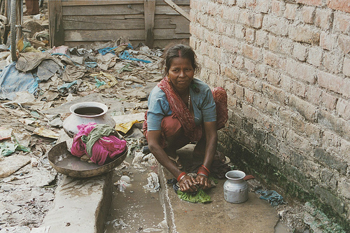 Slum Delhi
