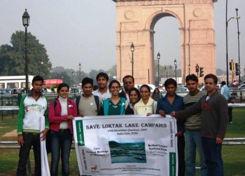 March 7th, 2010: Save Loktak Lake Campaign