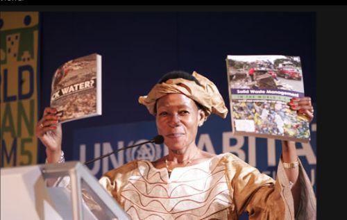 Anna Tibaijuka, Executive Director of UN Habitat