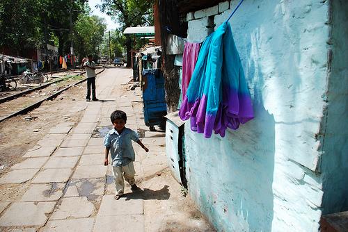 Slums in Delhi