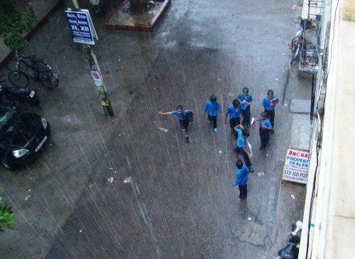 Delhi Monsoon 2010: Come Join Us in Exciting and Fun-filled Interactions with the Rain!