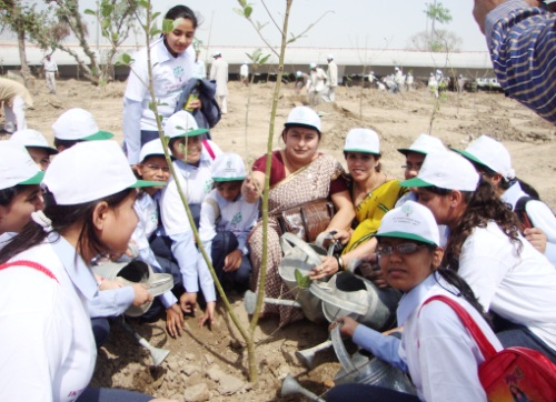 plantation on world water day
