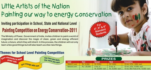 Painting Competition at School Level on Energy Conservation 2011