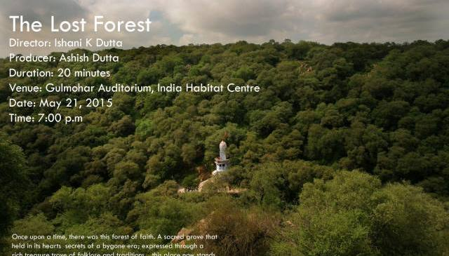 Invitation to the Screening of The Lost Forest (of Mangerbani)
