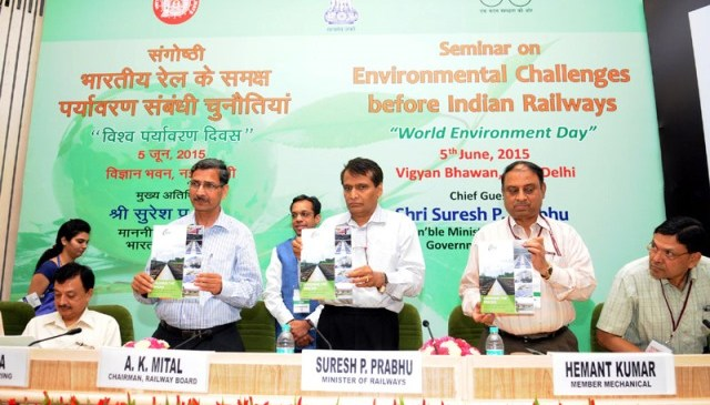 Go Green Indian Railways, On World Environment Day 2015