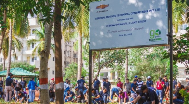 General Motors Conducts PUC Drive on Environment Day