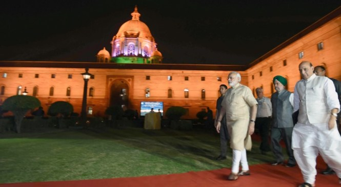 Energy Efficient Lighting of North and South Blocks From This Diwali