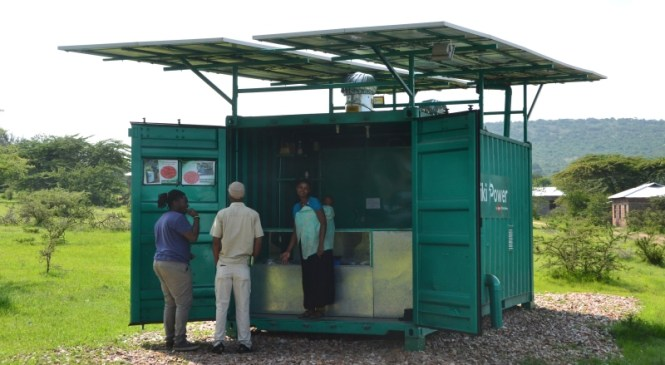 Intersolar Award Nomination for African Village Project by Trojan Battery