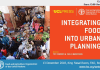 FAO Webcast on Integrating Food into Urban Planning