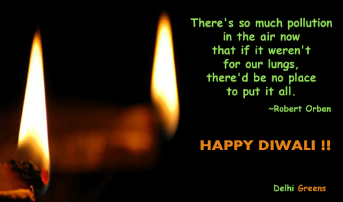 Diwali Greetings from Delhi Greens