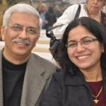 a happy Parsi couple