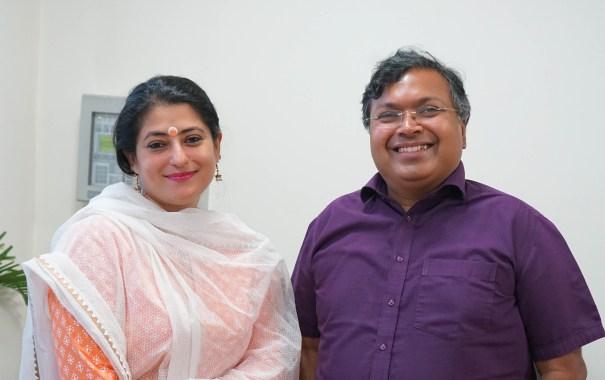 Ketaki and Devdutt Pattnaik