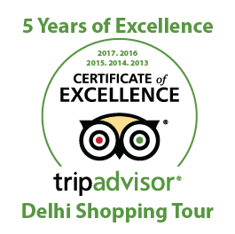 Tripadvisor Certificate of Excellence 5 years in a row