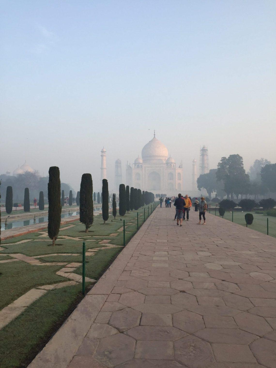 Taj Fog Clears
