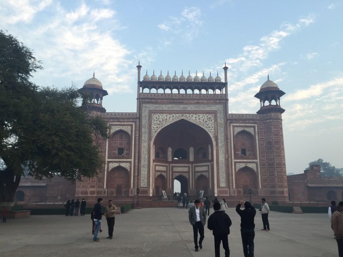 Taj Main entrance