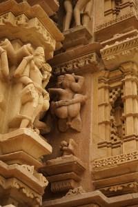 Khajuraho couple sculpture