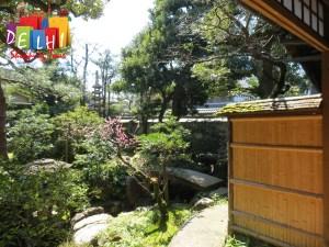 Kanazawa samurai village courtyard garden