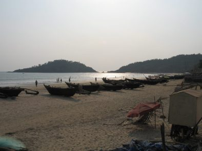 Palolem beach late afternoon