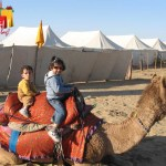 Camel ride in Sam