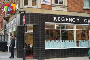 Entrance to the regency cafe