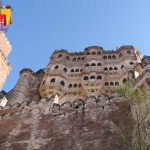Mehrangarh imposing view
