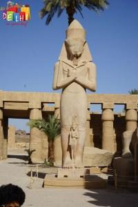 Karnak Temple Statues