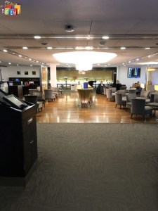 More seating at BA first lounge at Heathrow Terminal 3