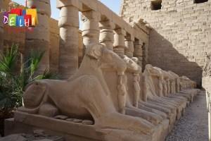 Sights at Karnak Temple