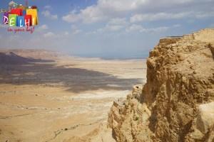 Ruins of Masada fort